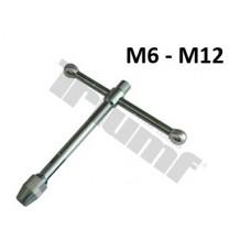 Extra pevný držiak na závitníky - M6 - M12, L = 190 mm