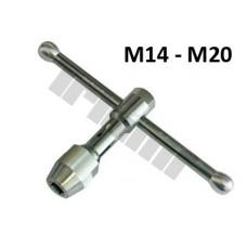 Extra pevný držiak na závitníky - M14 - M20, L =120 mm