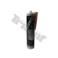 Karosársky elastický tmel v kartuši 350g/290ml, béžový prelakovateľný.