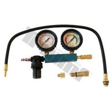 Merač tesnosti benzínových motorov, 4 - dielny