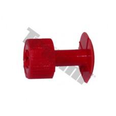Červené lepiace koliesko D32 - maxi, 1ks