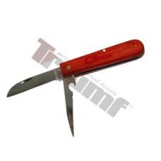 Nôž na vodiče dvojčepeľový