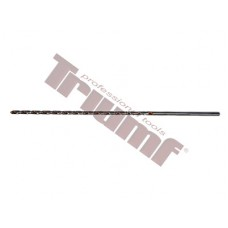 Extra dlhý vybrusovaný HSS vrták  - 6,0 x 180 x 260 mm
