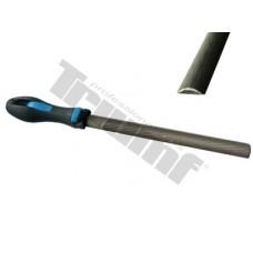Pilník  polguľatý na kov, sek 2 - 200 mm
