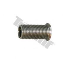 Závitová vložka, 1 ks, čierna oceľová - M8 x 1 x 18 mm
