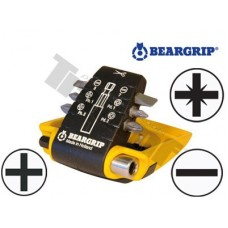 """Sada bitov """"CLIP PAC"""" PL, PH, PZ + magnetický držiak 7-dielna"""