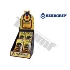 Reklamný kartónový stojan BEARGRIP pultová verzia