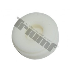 Náhradná hlavica, tvrdený plast Ø 60 mm, biela