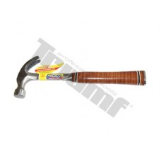 Drevárske kladivo s koženým povrchom rukoväte, 560 g