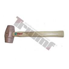 Kladivo medené, súdkovitý tvar OE - 40 mm