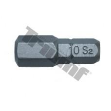 """Bit Inbus, 8 mm (5/16"""") driek, dĺžka 30 mm - 10 mm"""