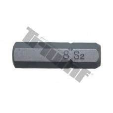 """Bit Inbus, 8 mm (5/16"""") driek, dĺžka 30 mm - 8 mm"""