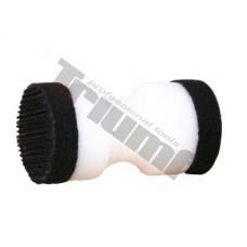 Brúsny blok pre mini brúsne kotúčiky 30 mm, suchý zips / lepiace
