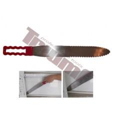 Extra veľký nôž k prerezávaniu lepených spojov