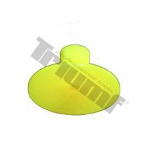 Lepiace koliesko žlté, kruhové Ø 40 mm