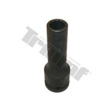 """Hlavica kovaná 12 - hranná 3/4"""" vstup, predĺžená - 17 mm"""