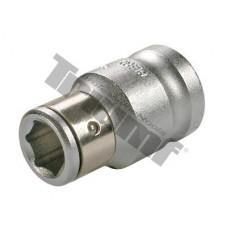 "Adaptér s poistkou pre 5/16"", 8 mm bity - Vstup 3/8"""