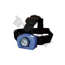 LED lampa čelová s rýchlonastaviteľným zoomom, viacfunkčná