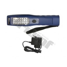 AKU - LED lampa s 21diódami s UV funkciou v prednej časti