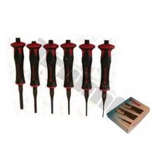 Sada antivibračných vyrážačov 2 - 8 mm, 6 - dielna.