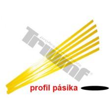 Pásik polyetylénový žltý,  1.5 m