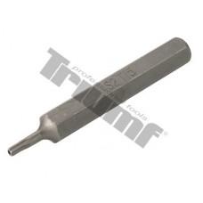 Bit Torx vŕtaný, 10 mm driek, dĺžka 75 mm - T 10