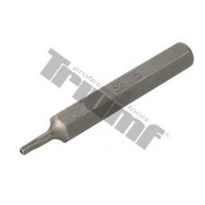 Bit Torx vŕtaný, 10 mm driek, dĺžka 75 mm - T 15