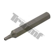 Bit Torx vŕtaný, 10 mm driek, dĺžka 75 mm - T 25