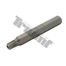 Bit Torx vŕtaný, 10 mm driek, dĺžka 75 mm - T 45