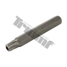 Bit Torx vŕtaný, 10 mm driek, dĺžka 75 mm - T 50