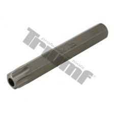 Bit Torx vŕtaný, 10 mm driek, dĺžka 75 mm - T 55