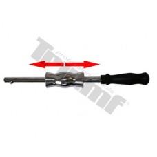 Reverzné kladivo 390mm dlhé, závit M8, váha 1350g (doplnky 28323+27107), do sady 36817,37888