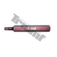 Bit Inbus, 10 mm driek, dĺžka 75 mm - 5 mm