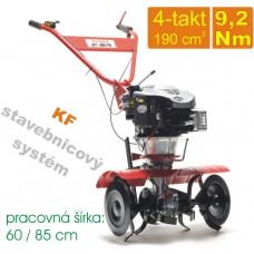 Rotavátor benzínový 4-takt, KF Q 675, spojka 75mm, záber 60cm, B&S 675 - 9,2Nm / KF systém