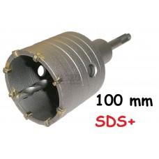 Korunka vykružovacia SDS+, 100mm